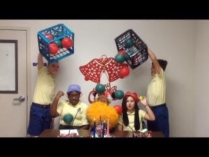 Happy Birthday balloon barrage!