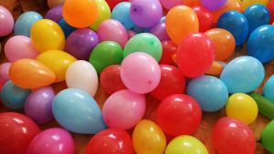 barrage of balloons